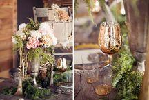 Romantic Woodland Themed Wedding / by Mandy Govitz