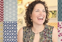 Jill Rosenwald / Jill Rosenwald's collection for Surya includes handmade rugs and exclusive handcrafted accent pillows, all with her mark of graphics sophistication.