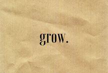 •grow•