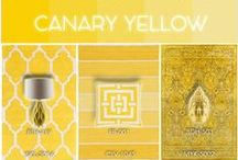 Canary Yellow / Hello yellow! This summer we are seeing pops of lemon yellow in everything from handbags to colored jeans.  Surya translates this sunny trend from fashion to home décor with a breadth of yellow rugs, pillows and poufs to brighten up any space.