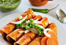 "Mexican Food / This is a collection of Mexican recipes from the website ""Mexico in my Kitchen"", where you will find authentic and traditional homestyle meals explained to you step by step with photos and a lot of tips for substitutions. Enjoy!"
