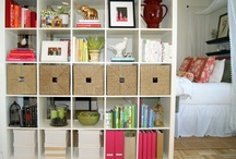 Storage Solutions / by Paula Carter
