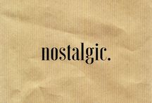 •nostalgic•