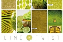 Lime Twist / This citrus shade of green warms any space up with a bit of tropical flare. Though typically a bright and bold option, this versatile shade can appear more subtle and sophisticated when used in small doses or in softer textures.