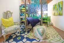 Merchandising / There are many ways to effectively merchandise Surya rugs, pillows, poufs, throws, art and accent furniture.  Pick the one that's best for you based on your store size and layout.   / by Surya
