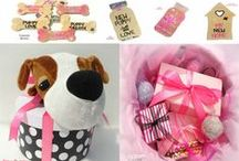 New Puppy Gifts Collection / http://pamperedpawgifts.com/love-my-pooch/love-my-pooch-new-puppy.php