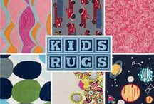 Kid's Rugs / Playful designs in bright, clean colors are a practical and affordable way to add color and comfort to kids' rooms. Our new ultra soft rugs are as durable as they are plush, and are made for everything kids do - from rough-housing to daydreaming. Surya's new collections are debuting at High Point Market Fall 2013.