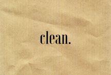 •clean•