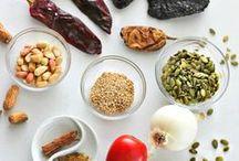 Mexican Cooking Ingredients - Ingredientes de la Comida Mexicana