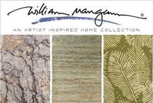 William Mangum / William Mangum, a nationally- and internationally-acclaimed artist who – for more than 35 years – has captured in his paintings the essence of the American landscape. Surya will launch at April's High Point Market three rug collections from Mangum.