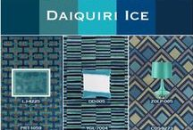 Cobalt and Teal / A splash of aqua combined with a dash of navy creates a refreshing color combination. Many Surya accessories reflect this bold yet soothing color trend inspired by hues found in the ocean's depths.