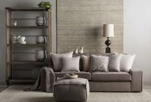 Neutrals / Today's new NEUTRALS transcend style. A core palette of cool greys through warm taupes and creams provides a versatile backdrop for any environment. Subtle patterns and innovative textures are timeless and complement a multitude of decor styles.