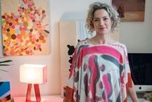 Emma Gardner / Surya's latest designer partner, Emma Gardner, is an award-winning designer known for her unique color pairings and design sensibility. Born in Kyoto, Japan and growing up in Connecticut and New York City, her design influences include nature, fashion, literature, architecture, art and color itself.