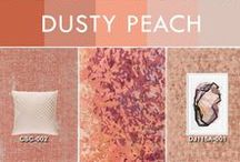 Dusty Peach / The traditional peach shade from the 1920s is back with a refined look! A slightly muted take on the cheerful shade lends a romantic, sophisticated feel while radiating warm energy. Get the look with Surya accessories!