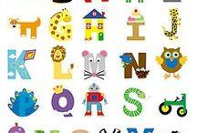 Alphabet ABC Letter Work / by Brenda Bolden