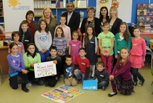 """Bring Your MP to School! / To celebrate National Child Day on November 20, we are hosting """"Bring Your MP to School Day."""" It represents a perfect opportunity for MPs and their youngest constituents to engage in meaningful discussion and learn from each other. Learn more at www.unicef.ca/ncd"""