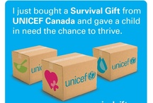 """Are you on the """"Nice List""""? / If you've purchased a UNICEF Survival Gift, you know which list you're on... Want something to prove it? Download one of these banners and post it to Facebook!"""