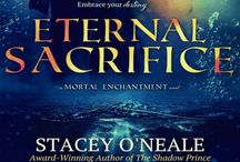 Mortal Enchantment series / My young adult paranormal series about elementals.