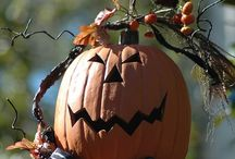 Hallowed Halloween / Halloween, glorious Halloween! Beloved, anticipated, most wonderful time of the year! Hallowed, adored, needed, loved-- my heart beats in orange and purple, I am only alive when the leaves begin to change! / by Stacy Parker