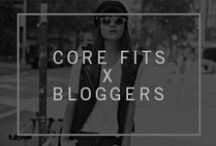Core Fits x Bloggers / Meet our core fits - designed by us, styled by bloggers. #denimdisrupted