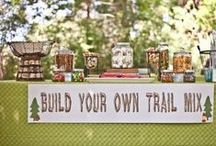 Camping Party Stuff / by Rebecca Bradley Designs