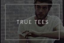 True Tees / Your favorite logo tees (and more!) from the past, present & future.