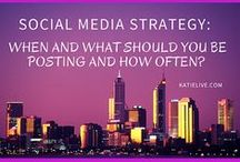 Social Media Strategies / Social Media and Strategies for Blogging   Learn more here:  http://KatieLive.com