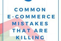 Ecommerce Tips + Strategy / Ecommerce tips and strategy for small businesses