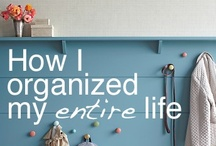 HOME: Organize / by The Gracious Pantry