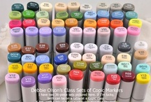 Crafts - Copics & Coloring / Oh, how I want to be an artist!!!  Tutorials and examples for using Copic Markers  / by Debbi Logan
