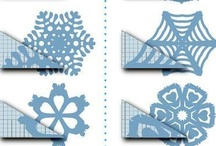 Crafts - Paper Folding:  Snowflakes, flowers, &c / by Debbi Logan