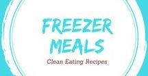 Clean Eating Freezer Meals / Clean Eating Freezer Meals. They make your week go soooo much smoother!