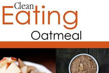 Clean Eating Oatmeal Recipes / Because your morning bowl of oats NEVER has to get boring! / by The Gracious Pantry