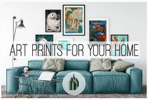 Art in the Home / Museum quality Fine Art Prints