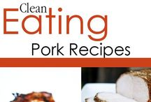"Clean Eating Pork Recipes / Healthy recipes for ""the other white meat"". / by The Gracious Pantry"