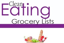 Clean Eating Grocery Lists / How to shop for clean eating at particular stores and venues. / by The Gracious Pantry