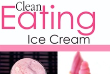Clean Eating Ice Cream Recipes / When you use healthy, whole food ingredients, even ice cream can be enjoyed without guilt. Moderation perhaps, but no guilt. / by The Gracious Pantry