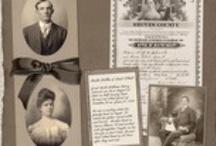 Diggin' up Bones - Genealogy Scrapbooking / by Debbi Logan