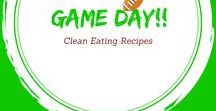 Clean Eating Game Day Recipes / Clean Eating Game Day Recipes. Because watching the game doesn't have to be unhealthy.