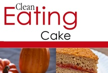 Clean Eating Cake Recipes / Clean Eating Cake Recipes For All Occasions. / by The Gracious Pantry