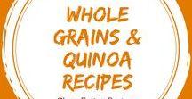 Clean Eating Whole Grains & Quinoa Recipes