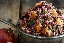 Food - Quinoa Recipes / Brilliant ideas for using quinoa