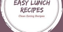 Clean Eating Lunch Recipes / Lunch ideas we grownups will enjoy.