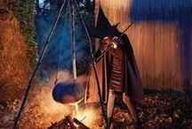 Halloween y dia de los muertos / by Katie Marrocco