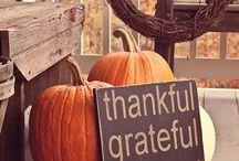 Fall/ Halloween/ Thanksgiving crafts, food, decor