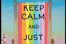 Keep Calm (pins) / Just keep calm!!