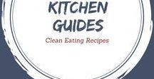 Clean Eating Kitchen Guides / So many folks have told me they grew up on packaged foods and don't know what to do with fresh foods or produce in the kitchen. So this board will be dedicated to helping you learn how to purchase, store, prep and cook with different foods, as well as cooking guides for various types of foods.