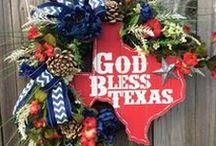 Texas Home Decor Ideas / Texas Home Decor Ideas | Texas Home Decor | Texas Decorations | Lone Star State Decor