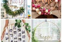 DIY Party Decoration Ideas / Homemade party decorations for any type of celebration. Easy Party Decoration Ideas | Tablescapes | Decorations for All Celebrations | Party Decorations | Birthday Party Decorations | Engagement Party Decorations | Shower Decorations | Retirement Party Decorations | Graduation Party Decorations