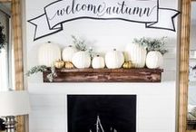 Fall Style & Decor / Home decor, fall decorating, autumn decor, seasonal projects, DIY, home decorating, ideas, DIY projects, home makeovers, cleaning tips, natural living, green home ideas, how to decorate, how to at home, home projects, home style, holiday decorating, how to, and inspiration for fall. / by Decor Adventures